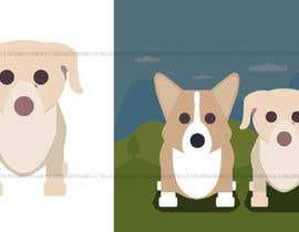 nº 18 pour Draw a clipart picture of our dog par GabrielGoistais