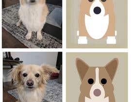 nº 2 pour Draw a clipart picture of our dog par machasibjs