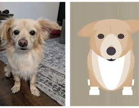 nº 6 pour Draw a clipart picture of our dog par andrijapajic