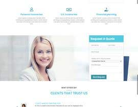 #15 for Simple professional Accounting website design by avinaykumarweb
