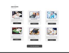 #25 for Simple professional Accounting website design by mnsiddik84