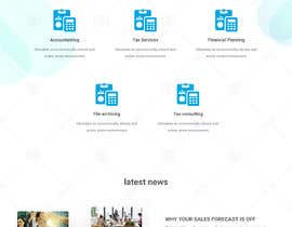 #13 for Simple professional Accounting website design by doomshellsl