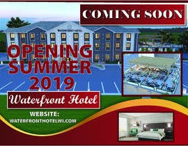 #10 for sign/banner for new hotel coming soon by NazMalik004