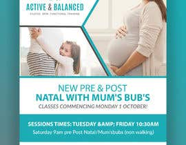 #14 for Pre/Post Natal Flyer by sulovechiran18