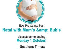 #10 for Pre/Post Natal Flyer by designcreative28