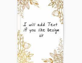 #21 pёr Invitation Card for Wedding nga Ahsanhabibafsari