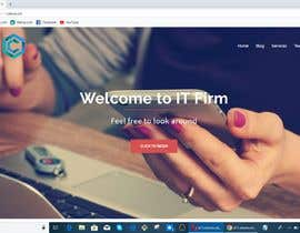 #6 , Design a website homepage for an IT firm 来自 mkZisan