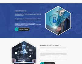 #18 untuk Design a website homepage for an IT firm oleh GalaxyDesigns