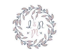 #58 dla Logo for a wedding przez marktiu66