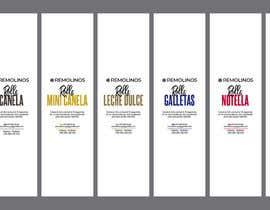 #15 para Diseño de ETIQUETAS / Label design de HuntPatricia