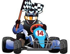 #18 for Cartoon Kart Vector Illustration af Flatformer