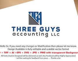 #100 para Creating a Business Logo: Three Guys Accounting, LLC. de Mostafiz600