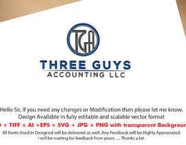 #101 para Creating a Business Logo: Three Guys Accounting, LLC. de Mostafiz600