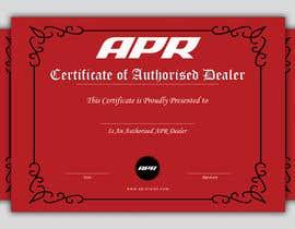Nro 34 kilpailuun Certificate design - authenticity käyttäjältä smileless33
