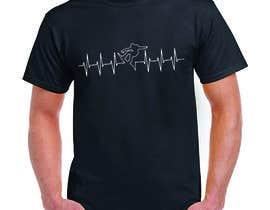 #82 untuk T-shirt design with heartbeat theme oleh marfi78689