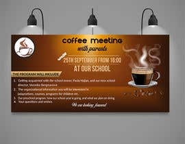 #5 для Create a coffee invitation for preschool parents от khaledalmanse