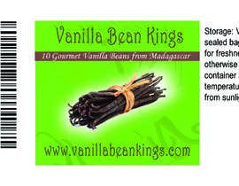 Anthonyrosman20 tarafından Design a sticker for a Vanilla Beans company için no 3
