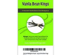 Shrikant2 tarafından Design a sticker for a Vanilla Beans company için no 7