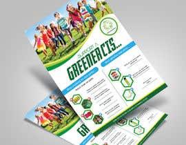 nº 53 pour Design a Green Flyer par ksh568bb1a94568e