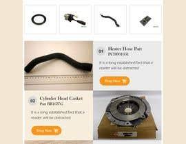 #3 para Email template design for online auto parts store. por webidea12