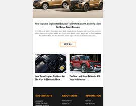 shazy9design tarafından Email template design for online auto parts store. için no 7