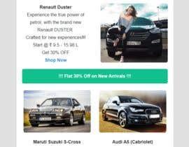 #23 para Email template design for online auto parts store. por arifmehrab