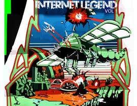 """nº 2 pour CD/Mixtape cover for Nine Callisto's new project """"Internet Legend Vol. 1"""" par halilx56"""