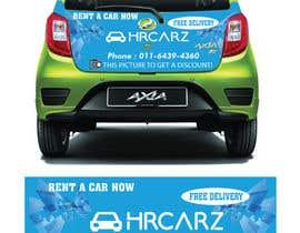 #13 para Need somebody to DESIGN a CAR ADVERTISING STICKER por Apurbohossain177