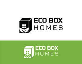 Nro 735 kilpailuun Logo for Eco Box Homes käyttäjältä humaunkabirgub