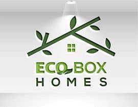 Nro 737 kilpailuun Logo for Eco Box Homes käyttäjältä sojib8184