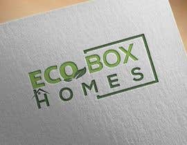 Nro 738 kilpailuun Logo for Eco Box Homes käyttäjältä sojib8184