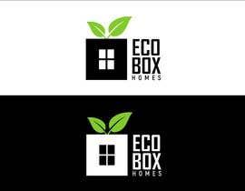 Nro 533 kilpailuun Logo for Eco Box Homes käyttäjältä bucekcentro