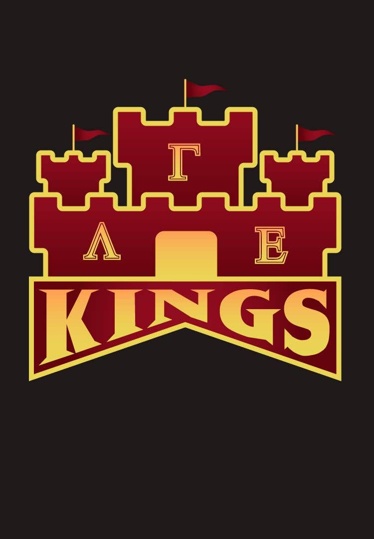 Kilpailutyö #9 kilpailussa we are a small organization that has been using the same logo (kings for years) we are looking for a new one to use for our social media and other things themes we typically stick w is a 4 pointed crown, knights and castles our letters are Lambda Gamma Ep