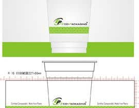#101 untuk Design an artwork for eco-frienldy clear cup oleh ConceptGRAPHIC
