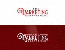 #152 for Design a logo - The Marketing Department by dikacomp