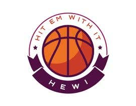 #12 untuk Would like logo to incorporate something with basketball in it. The name I would like to have with it is Hit Em Wit It and HEWI. I have attached an older logo with the name that I would like to have with the logo. oleh tafoortariq