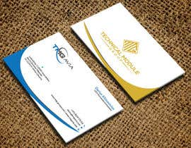 nº 310 pour Design an authentic and very luxury business card for a company par mdselimc