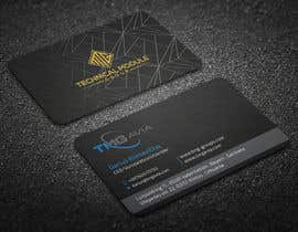 nº 301 pour Design an authentic and very luxury business card for a company par rtaraq