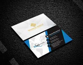 nº 341 pour Design an authentic and very luxury business card for a company par trupstech