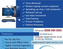 #23 cho Design a Flyer for Computer Repairs bởi tejashreebarve