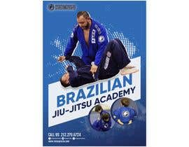 #6 สำหรับ I need a martial arts flyer for a Brazilian jiu-jitsu academy โดย hsahu003