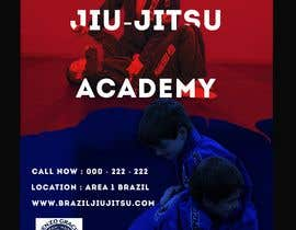 #8 สำหรับ I need a martial arts flyer for a Brazilian jiu-jitsu academy โดย demasgraphics