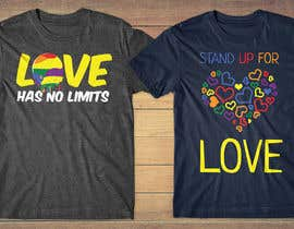 #29 for LGBT Pride Apparel Designs by db1404