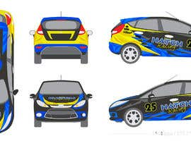 nº 64 pour Rally Car Vehicle Wrap par banduwardhana