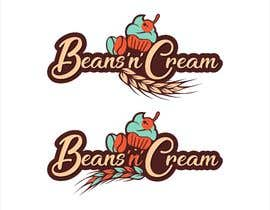 """harmeetgraphix tarafından Design a Logo Design  for an Upcoming Bakery to be named as 'BEANS N CREAM"""" with complete Visual Language(Typography, Colors-Palette) için no 121"""