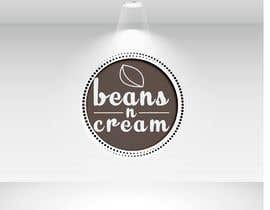 """mamunhossain7864 tarafından Design a Logo Design  for an Upcoming Bakery to be named as 'BEANS N CREAM"""" with complete Visual Language(Typography, Colors-Palette) için no 135"""