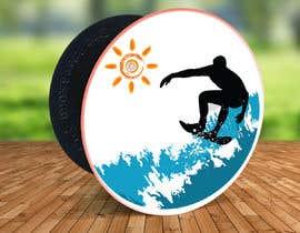 #18 para Design for a popsocket item, surfs up dude por aga5a2985f45d9e4