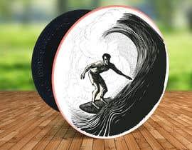#19 para Design for a popsocket item, surfs up dude por aga5a2985f45d9e4