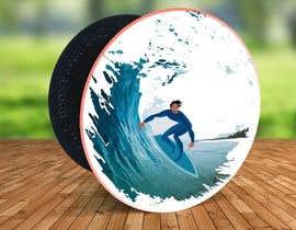 #22 para Design for a popsocket item, surfs up dude por aga5a2985f45d9e4