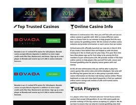 #15 for Wordpress Theme and Casino Website Redesign Contest by Richardsetu1